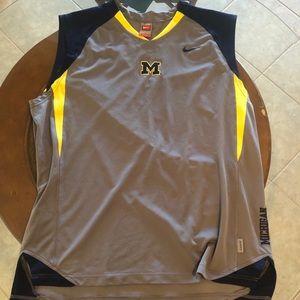 Vintage Nike Michigan university jersey tank top